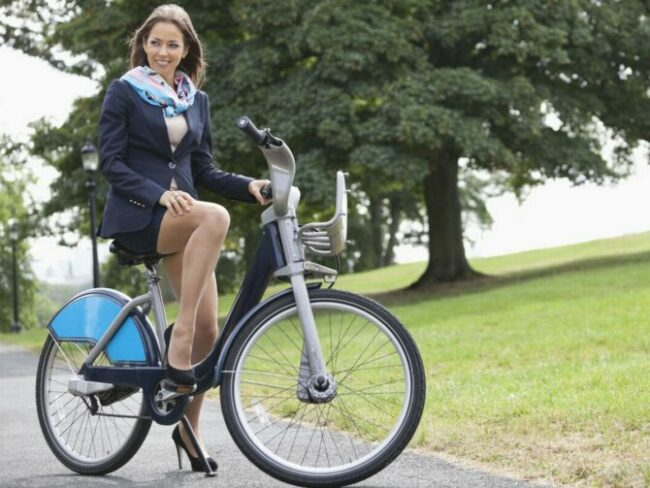 Cycle to work as the featured image for ECOTRIC Starfish Post.