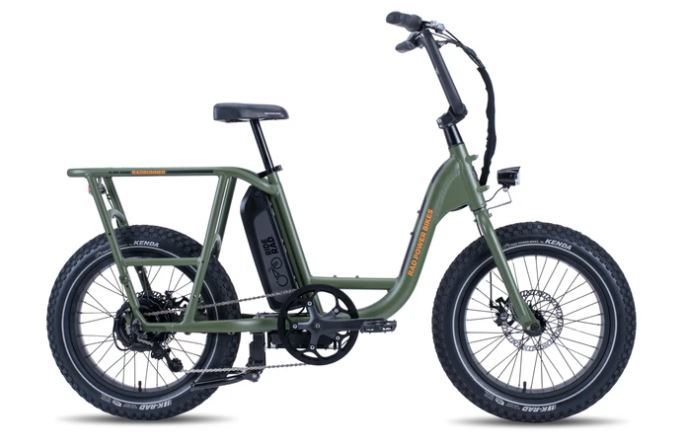 RAD Runner 1 - The best affordable electric commuting bike.