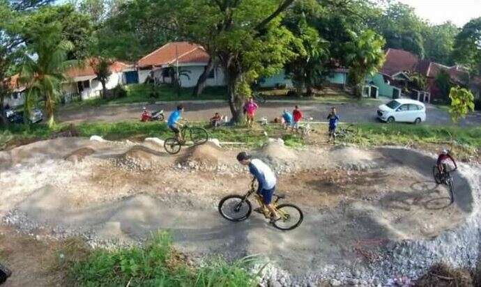Cycling fun Cilegon as the featured image for GO Express - The Best Affordable Electric All Terrain Bike post.